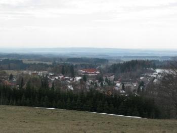 VTE Nový Hrádek - pohled na městys