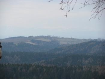 VTE Nový Hrádek - výhled k Jiráskově chatě